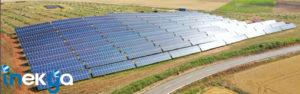 Huerta solar de 900kW en Carreberzosa (Cantabria)