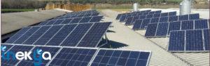 Instalacion fotovoltaica de autoconsumo de 100kW en Quintana del Puente