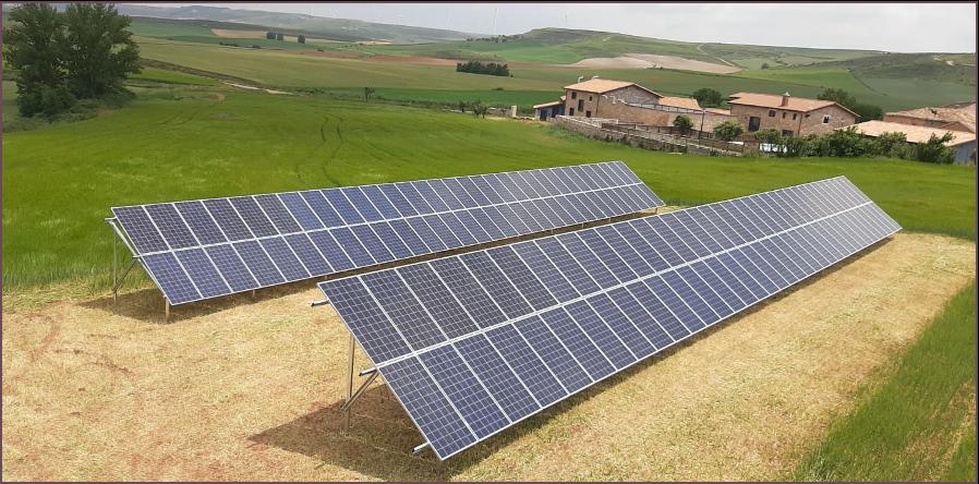 Instalacion fotovoltaica para autoconsumo industrial de 40kW en Villalibado