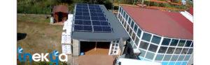 Instalación fotovoltaica autoconsumo residencial 5kWp en Aqualai (Oruña)