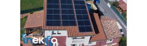 Instalación fotovoltaica autoconsumo residencial 6kWp en Guarnizo